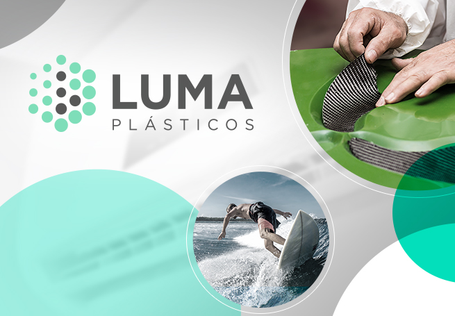 Luma Plásticos - Branding + Web Site