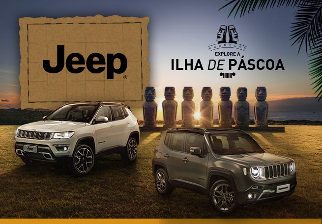 """Jeep - """"Explore a Ilha de Páscoa"""""""