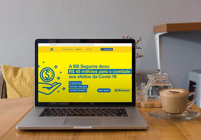 Banco do Brasil - Coronavírus e Iniciativas para Auxiliar a População