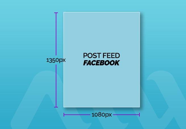 tamanho de post para feed facebook