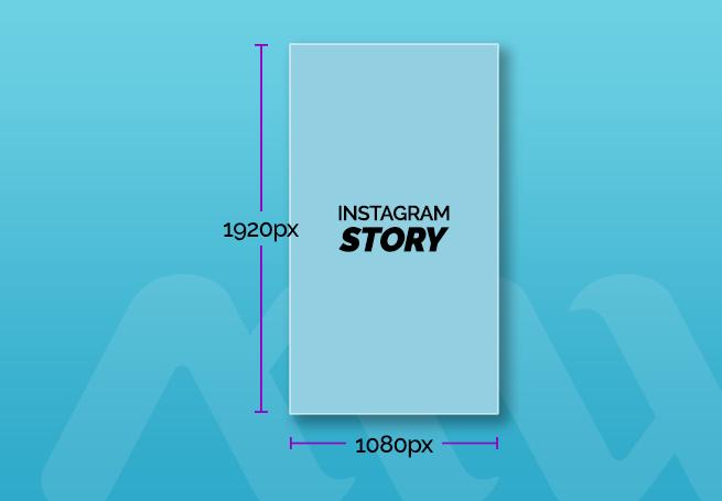 tamanho de post para instagram story