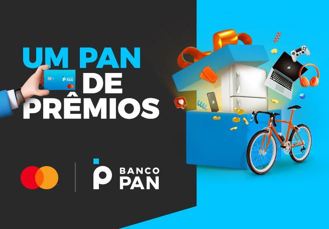 Promoção Um PAN de Prêmios - Mastercard e Banco PAN